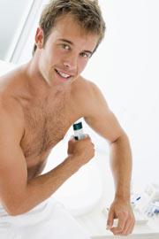 desodorante glándulas