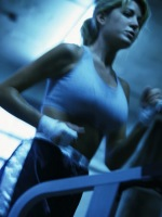 picturesofwoman running treadmil