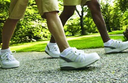 caminar un deporte sano y economico