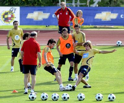 entreno futbol