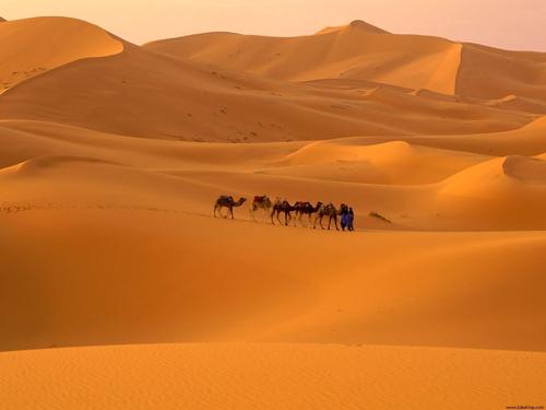 cromoterapia desierto del sahara