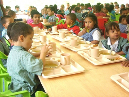 escolares alimentacion