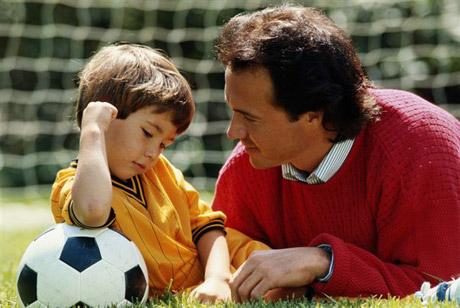 padre hijo deporte