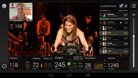peloton bike android