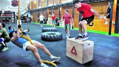 entrenamiento militar gimnasio