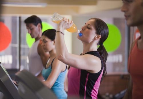 Bebida entrenamiento