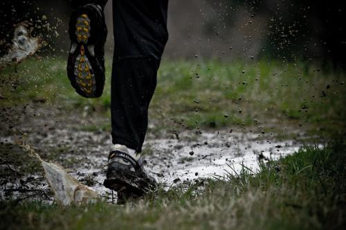 Running con lluvia