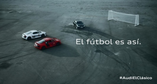 audi clasico real madrid y barcelona