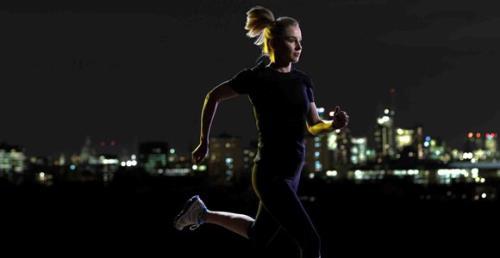 Running de noche