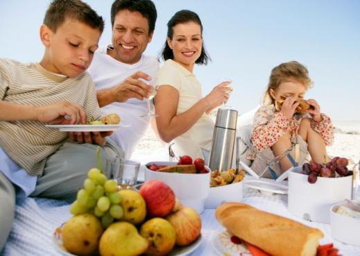 Vacaciones alimentacion